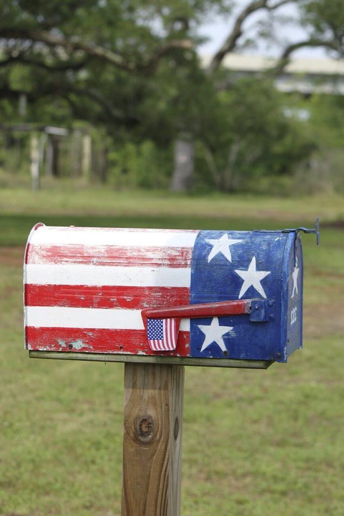 boite aux lettres américaine normalisée boîte aux lettres américaine mariage boîte au lettre américaine vintage